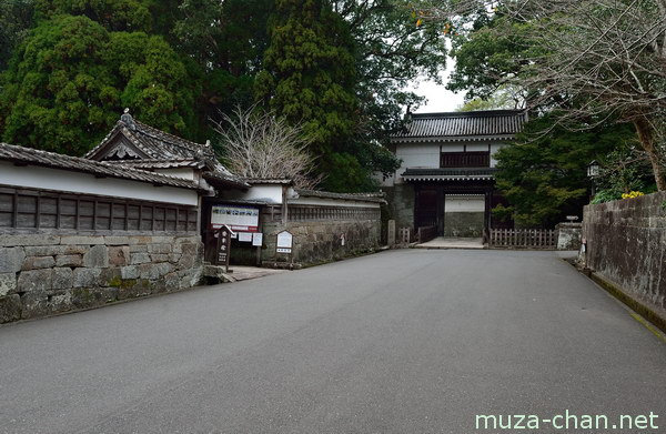 Obi Castle, Otemon Gate, Nichinan, Miyazaki