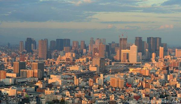 Umeda, View from ORC 200, Osaka