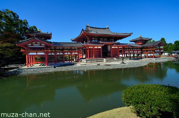 Phoenix Hall, Byodo-in, Uji, Kyoto