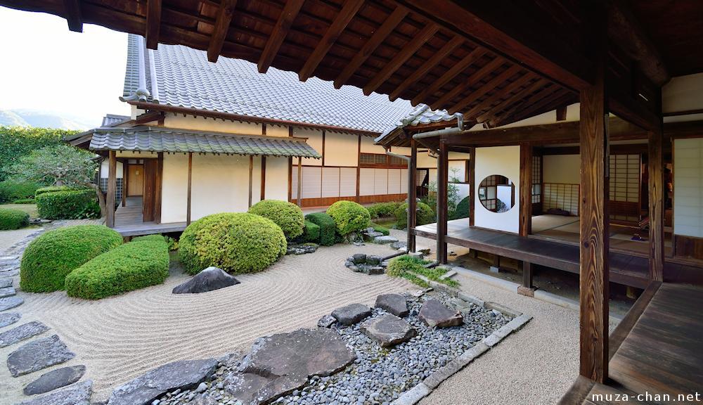 Japanese Zen gardens Stepping stones