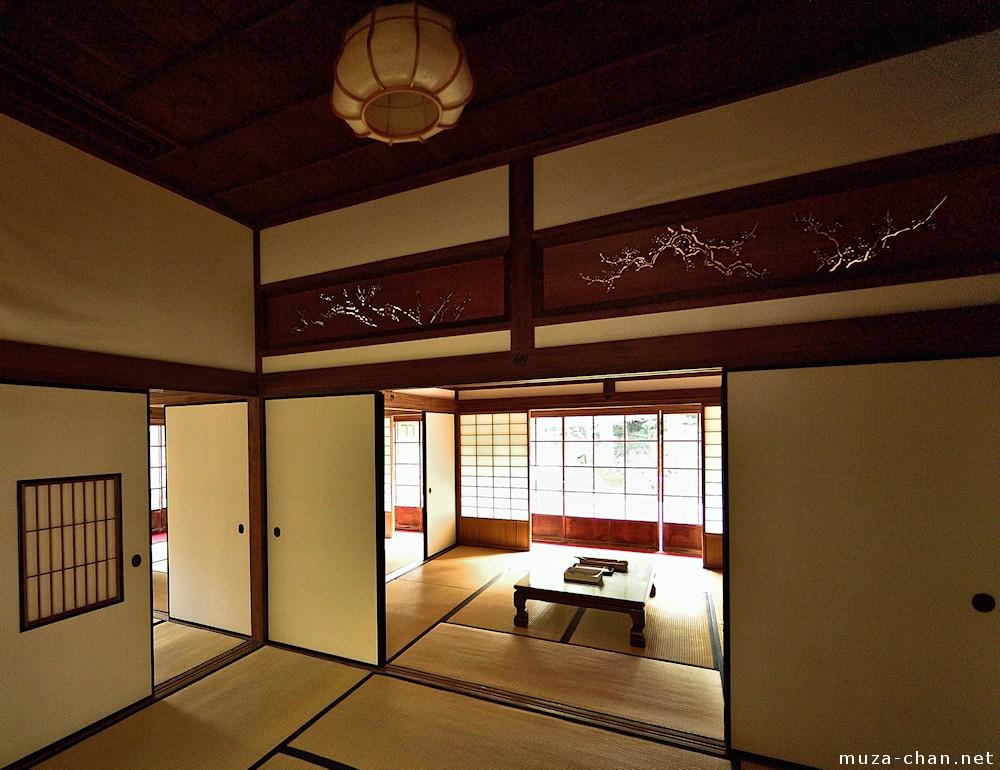 Japanese Living Room Stair Floor Plan