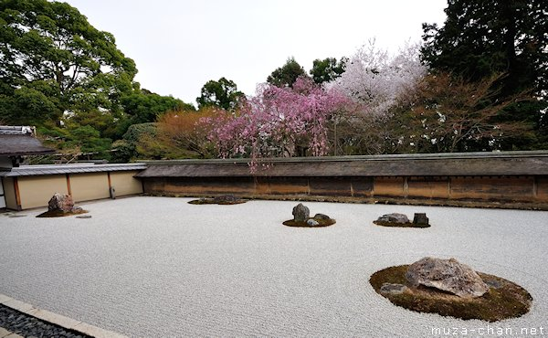 ryoan ji gardens Ryoan ji zen garden ryoanji is the most famous and celebrated garden in japan simply composed of stone and sand, it serves as a subtle yet effective.