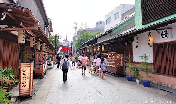 Taishakuten-Sando, Shibamata, Katsushika City, Tokyo