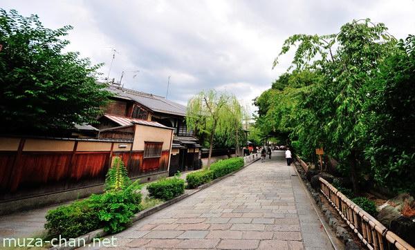 Shirakawa-minami-dori, Kyoto