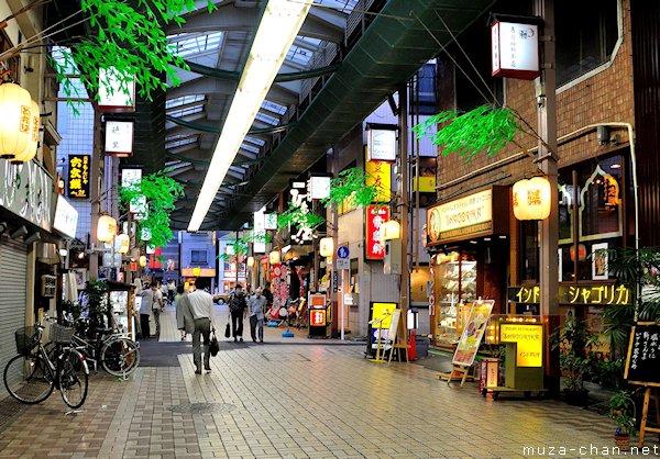Shopping arcades, Asakusa