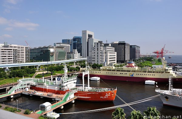 Sōya, View from Museum of Maritime Science Observation Deck, Odaiba, Tokyo