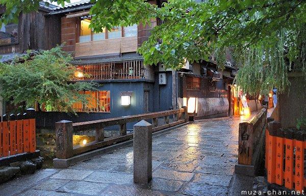 Tatsumi Bashi, Gion, Kyoto
