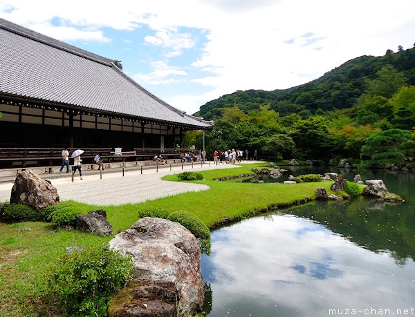 Tenryu-ji Temple Garden, Arashiyama, Kyoto