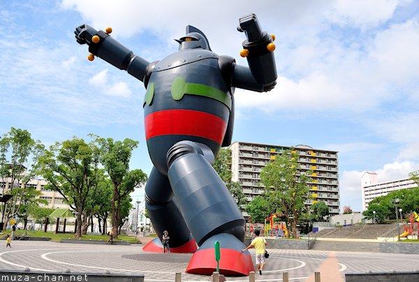 Tetsujin 28 Statue, Wakamatsu Park, Kobe