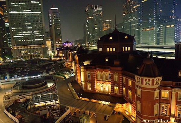 Tokyo Station, View from JP Tower, Marunouchi, Tokyo