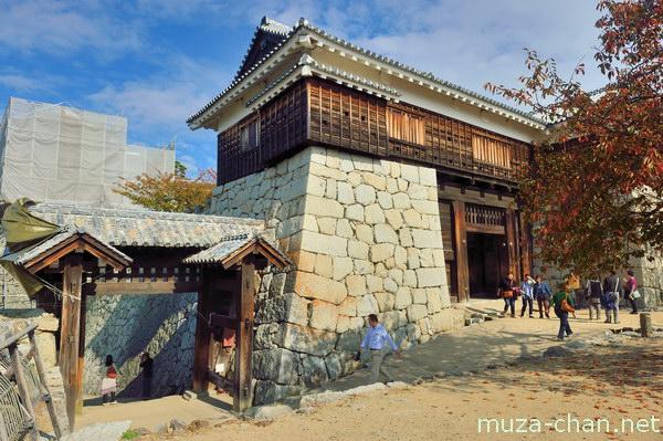 Tonashi gate, Matsuyama Castle, Matsuyama, Ehime