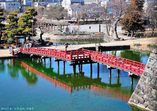 Red Bridge, Matsumoto Castle, Matsumoto