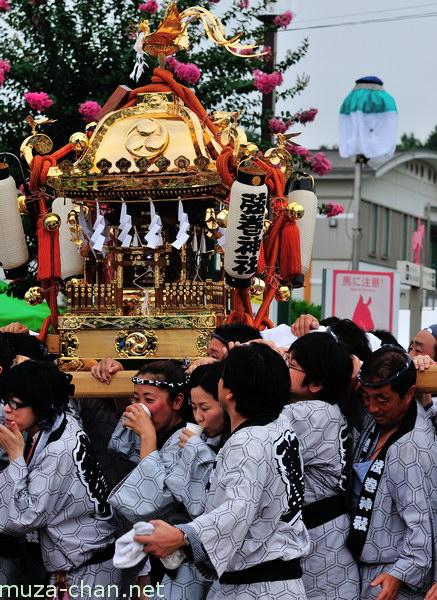 Mikoshi parade, Furusato Kumin Matsuri, Tokyo