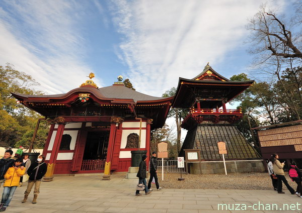 Wheel repository, Bell Tower, Narita-san Shinshō-ji Temple, Narita