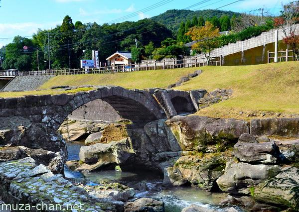 Yabitsu Bridge, Chiran, Kagoshima