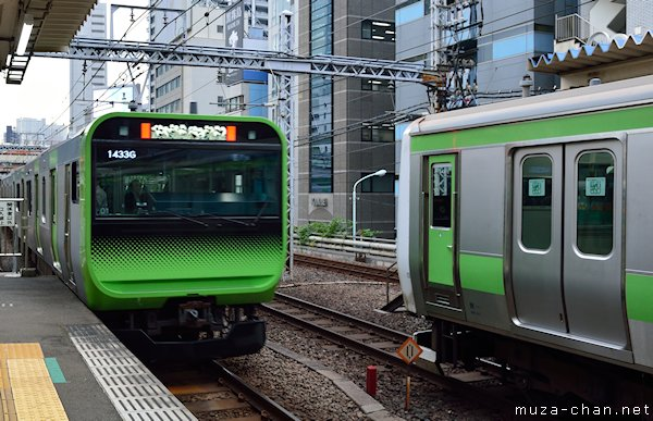 E235 series Yamanote train, Tokyo