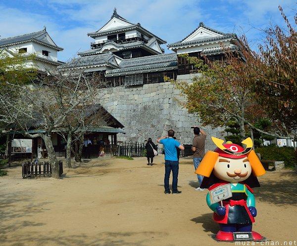 Yoshiaki-kun, Matsuyama Castle, Matsuyama, Ehime