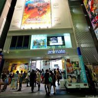 Manga and anime shopping in Tokyo, Ikebukuro new Animate shop