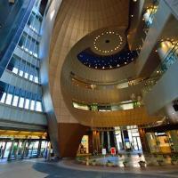 Japanese modern architecture, inside the RiverWalk Kitakyushu