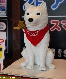 Japanese mascots - Otosan, the SoftBank's famous dog