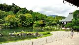 Japanese garden aesthetic principles, Borrowed scenery
