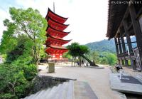 Miyajima Beauty - Pagoda and Senjokaku