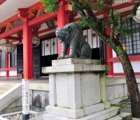 The unusual guardian of Kurama-dera