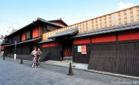 The most famous Geisha tea house from Kyoto