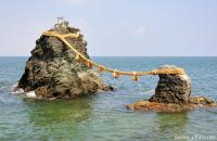 Meoto Iwa, the wedded rocks and a small travel tip