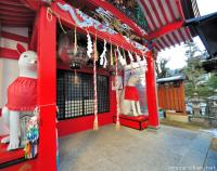Beautiful Inari Shrine in Matsumoto
