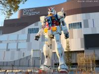 Life-size Gundam is back for good in Odaiba