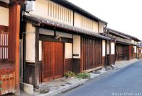 Japanese traditional houses in Nara and a travel tip