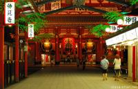 A shining Asakusa, Senso-ji Illuminations and a small travel tip