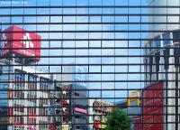 Reflections, photo 6&7 - Shibuya reflections