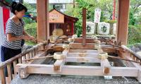 Japanese Shrine Etiquette, How to do a Temizu