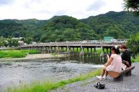 Romantic places in Kyoto, Moon Crossing Bridge