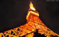 A Night View for Tokyo Tower's Anniversary