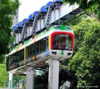 The first zoo monorail in the world