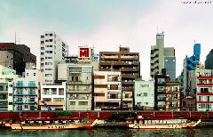 Asakusa, view from the Sumida River