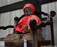 Nadebotoke Binzuru statue at Todai-ji