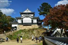 Bitchu Matsuyama Castle, the only surviving mountain castle