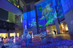 Tokyo Caretta Illumination 2013, White Xmas in the sea