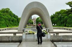 Hiroshima Day, 69 years - Cenotaph for the A-bomb Victims