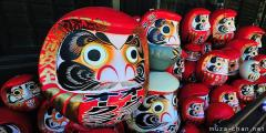 Good luck charms for the New Year, Daruma Doll