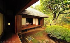 Japanese traditional house, Wooden veranda