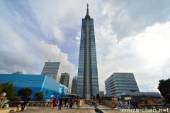 Fukuoka Tower, the tallest seaside tower in Japan