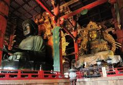 The great statues of Todaiji Nara