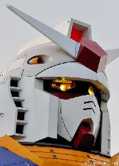 Gundam Head Close-up