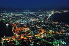 Mount Hakodate, one of the Three Major Night Views of Japan