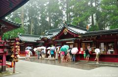 Simply beautiful Japanese scenes, Rainy day in Hakone